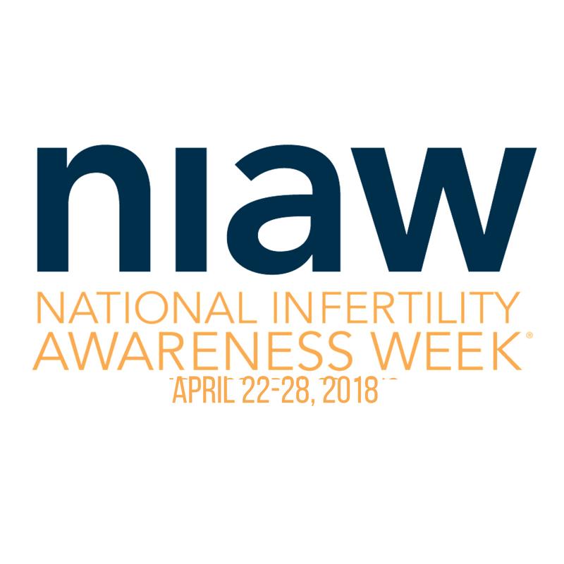 NIAW: National Infertility Awareness Week April 22-28, 2018